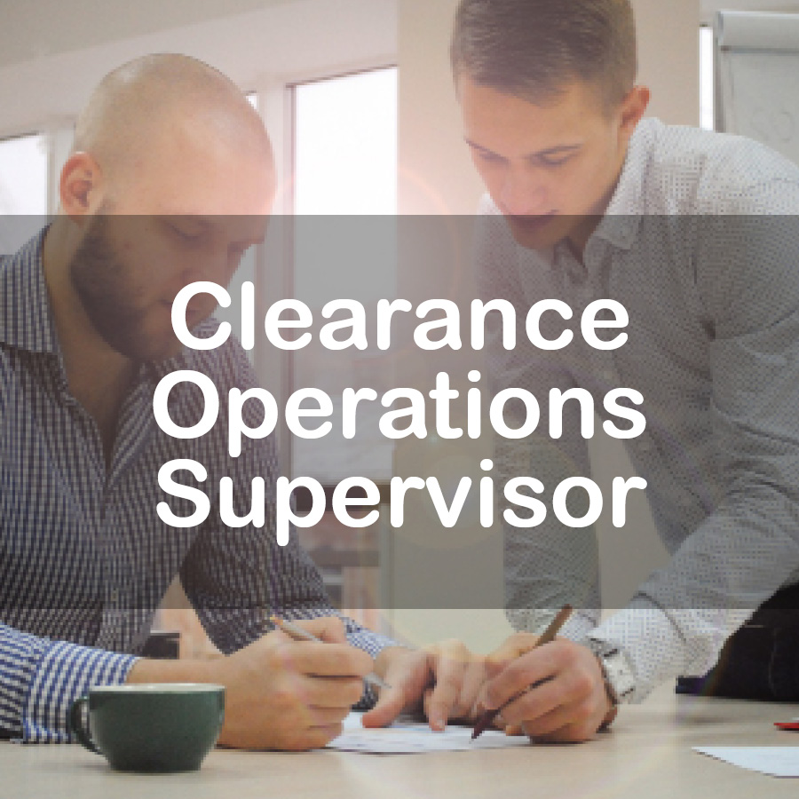 clearance-operations-supervisor